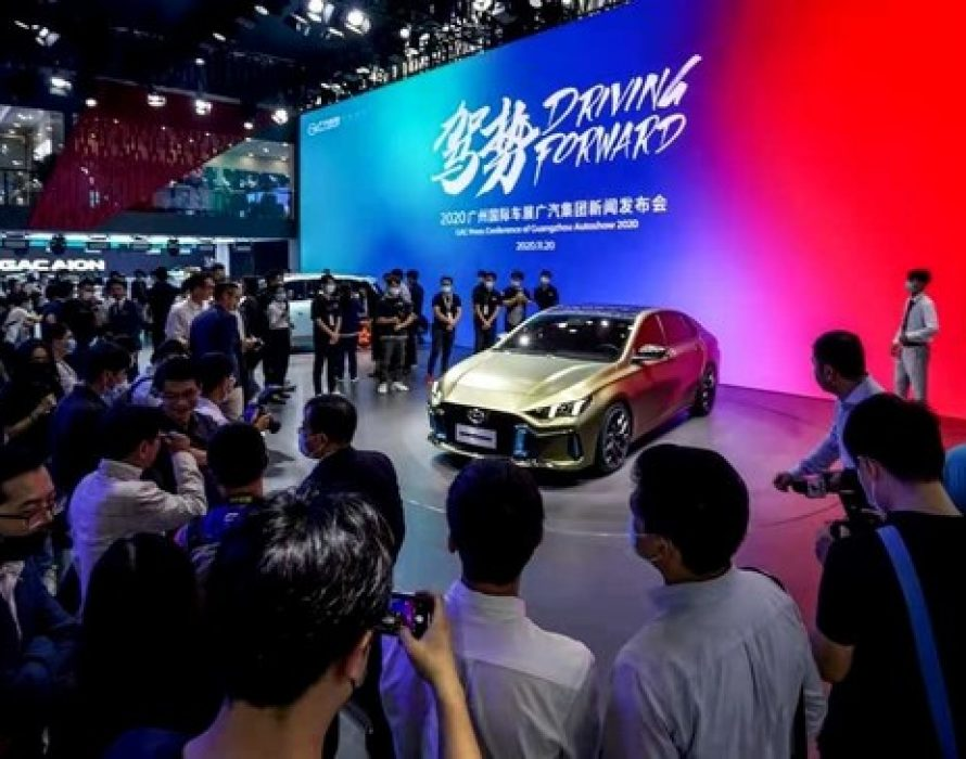 GAC MOTOR's Latest Sportscar Model EMPOW55 Gets an Explosive Showing at the Guangzhou International Automobile Exhibition, Paving the Way For an Industry Breakthrough