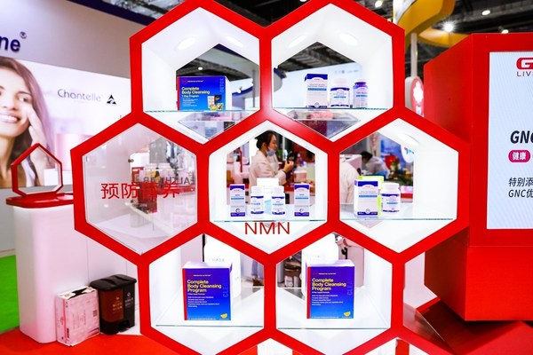 GNC Showcasing Newly Development Products including NMN