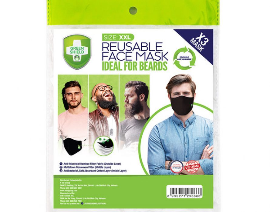 Green Shield Introduces New Face Masks for Beards
