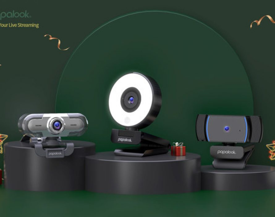 Holiday Gift Guide: Give the Gift of Connection this Festive Season with PAPALOOK's Innovative High-quality Webcams