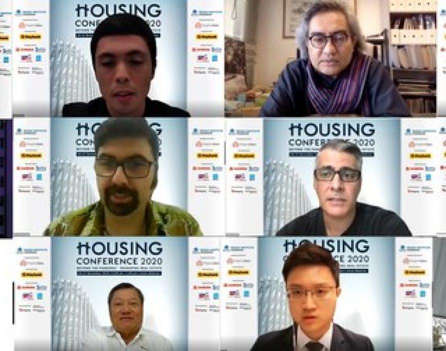 Housing Conference 2020 Webinar 'Beyond The Pandemic – Reshaping Real Estate' 26 November 2020