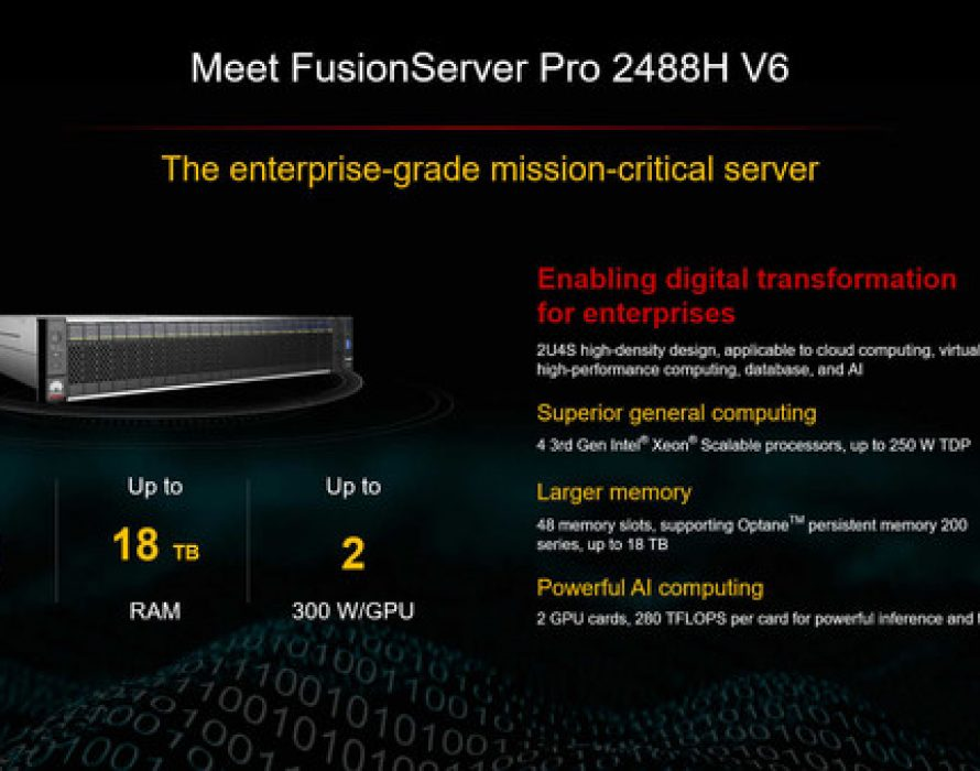 Huawei FusionServer Pro Intelligent Server Is the Perfect Partner for Shared Success