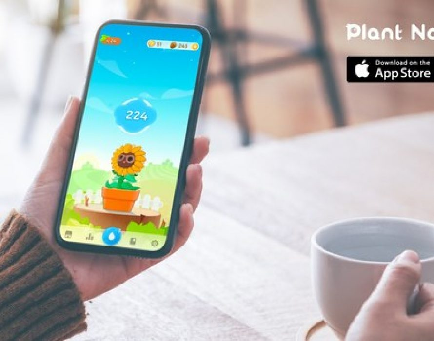 In Support of National Healthy Skin Month, Fourdesire's Plant Nanny2 App Launches #waterempties Instagram Campaign