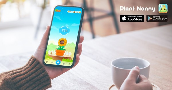 Week-long campaign reinforces the link between adequate water intake and a radiant complexion in a fun, engaging, and positive habit-building way with the adorable water reminder app Plant Nanny2.