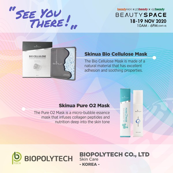 Biopolytech has focused on the research and development of high-quality and effective products with its deep understanding and technical knowledge of biotechnology. Check out more exhibitors at Beauty Space now.