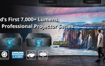 Introducing World's First 7,000+ Lumens, Fixed Lens, Professional Laser Projectors – Optoma ZU720T & ZU720TST