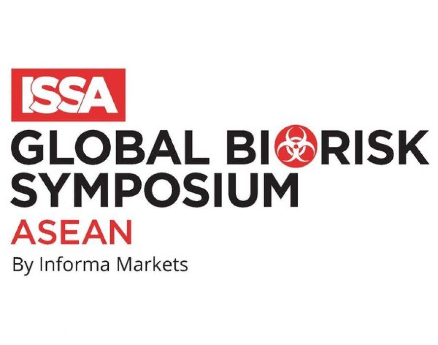 ISSA Global Biorisk Symposium Asean Announced The Symposium for Biorisk Mitigation & Infection Control