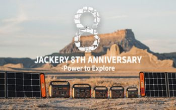 Jackery Celebrates Its 8th Anniversary and Announces a Sale on All Jackery Solar Generators