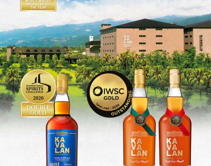 Kavalan Named ISC 2020 'Worldwide Producer of the Year'