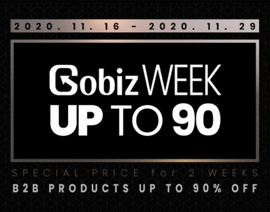 Korea B2B Market Place GobizKOREA, Up to 90% Discount Promotion is on going Now