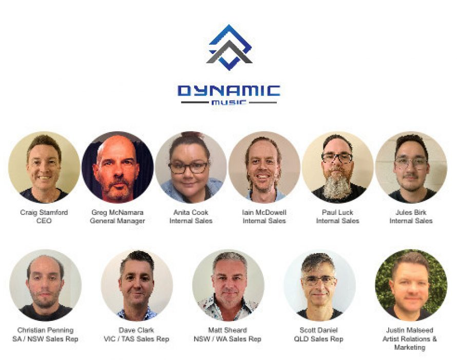 Mackie Teams Up with Dynamic Music for Distribution in Australia