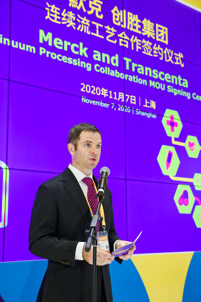 Keynote speech by Ian Carmichael, Vice President and Head of BioProcessing China, Life Science business of Merck