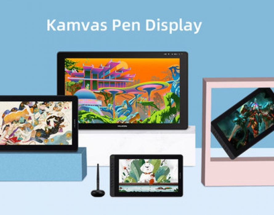 More Approachable Pen Displays – Huion Kamvas Series Introduces 11.6- and 15.6-Inch Displays