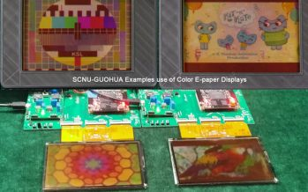 New breakthrough on full color video electronic paper display in China