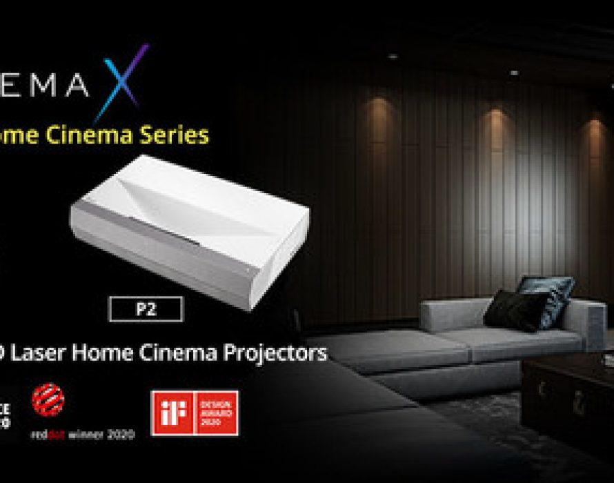 Optoma Expands Award-winning CinemaX Series with P1 PRO and P2 Smart True 4K Ultra Short Throw Laser Projectors