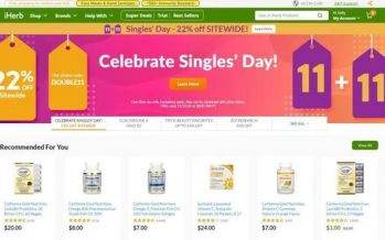 Overseas Shopping Spree on Double Eleven, Multiple Special Offers From iHerb to The Bonus Hunters