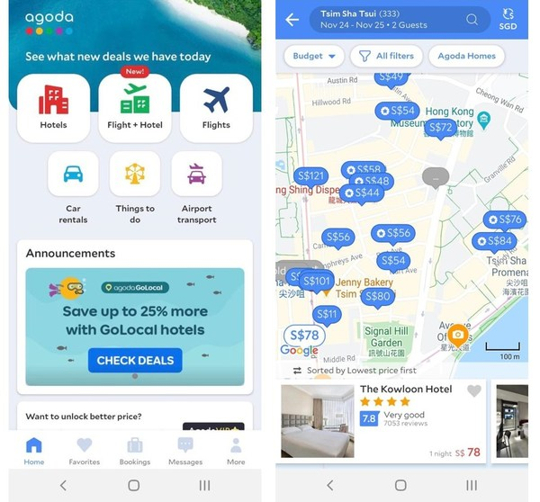 People are raring to go: Agoda sees a spike in searches following news on Hong Kong-Singapore Air Travel Bubble