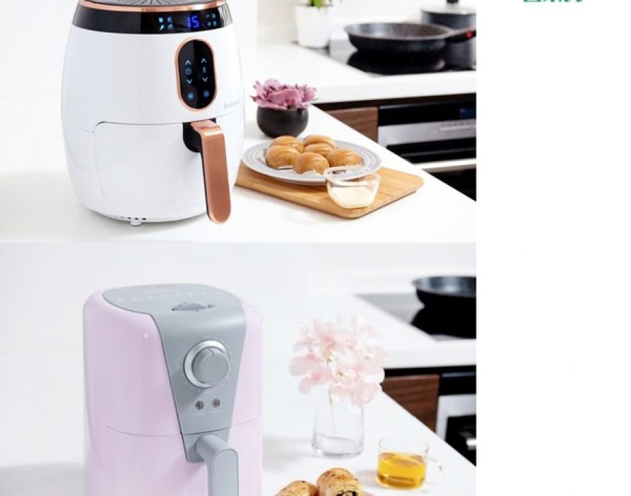 Proluxury @ ecLiving Launches a Series of Air Fryers in Various Functions