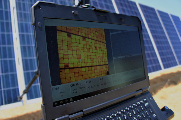 PVEL's field EL imaging techniques reveal damage in PV modules that cannot by seen by eye.