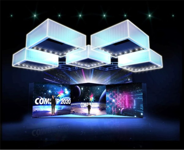 COMEUP 2020 opening ceremony stage proposal