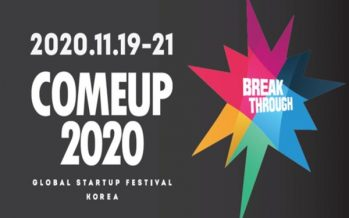 Register Now! Global Startup Festival 'COMEUP 2020'