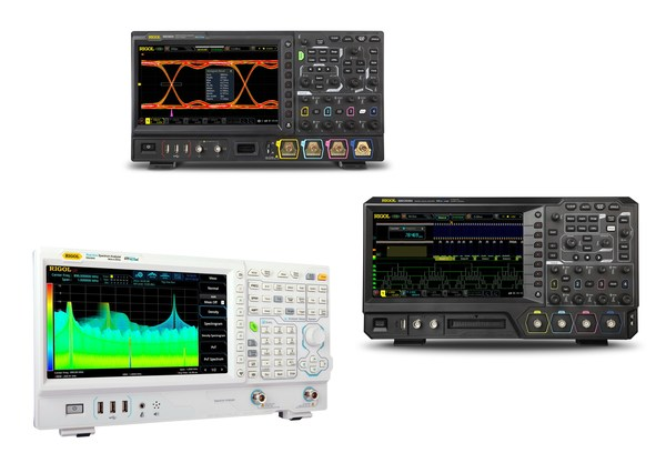 RIGOL UltraVision II oscilloscope architecture RIGOL UltraReal with VNA mode and Advanced Analysis Capabilities