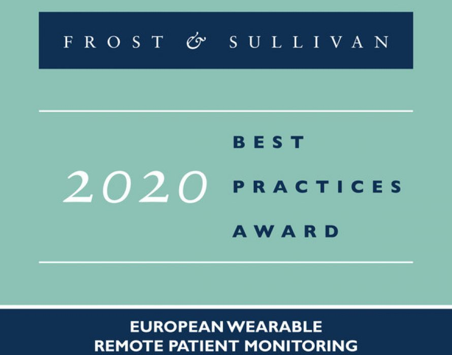 Sensium Lauded by Frost & Sullivan for Enhancing Patient Outcomes with its Wireless Patient Monitoring Tool