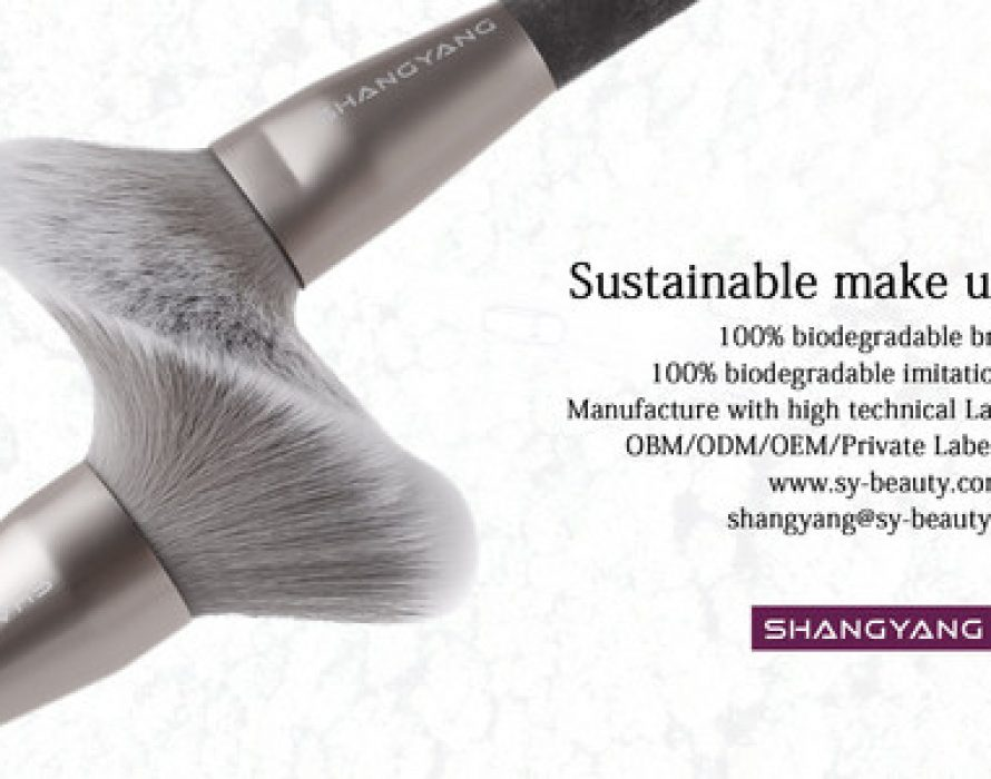 ShangYang Announces the Launch of Sustainable Makeup Brushes with 100% Degradable Bristles at Cosmoprof Asia Digital Week