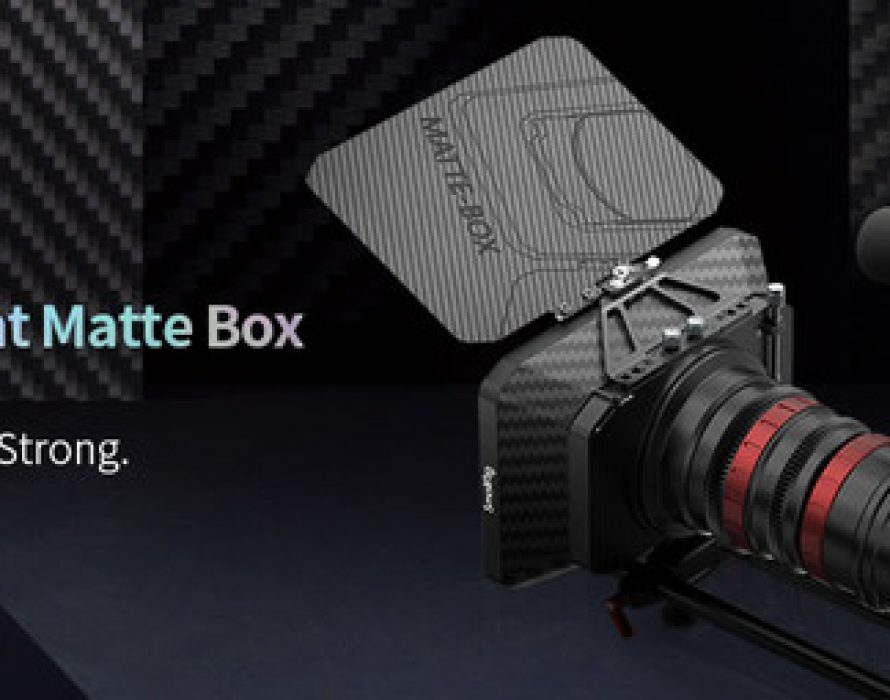 SmallRig Brought Lightweight Matte Box into Reality