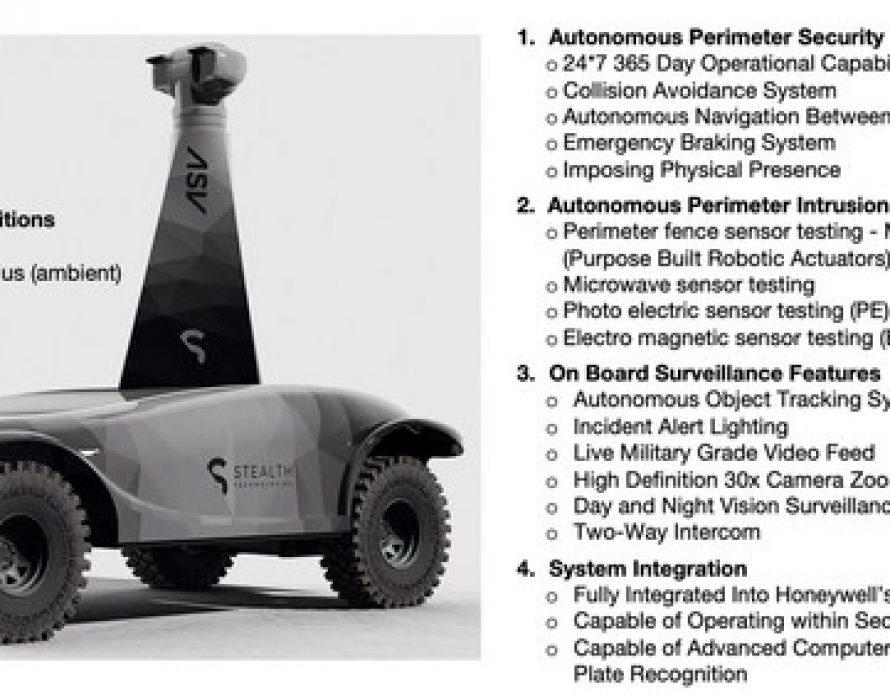 SOR Licenses CSIRO Technology for Robotic Security Teams