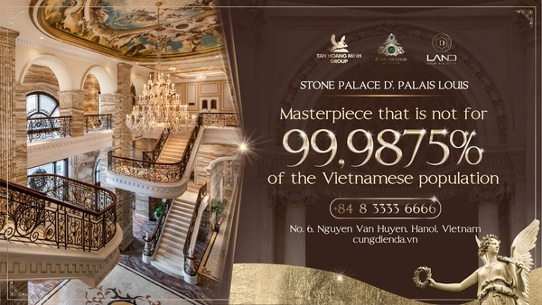 Stone Palace D'. Palais Louis - the palace not for 99.9875% of Vietnam's Population