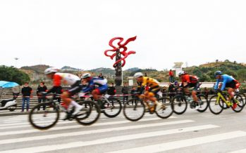 The 10th Mountain Fanjin Road Cycling Race Held in Yinjiang, Guizhou