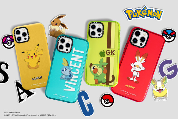 Best-selling series, CASETiFY & Pokémon, introduces a brand new collection with Pokémon recently discovered in the Galar region—plus renewed classic styles—customized for fans all around the world.