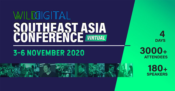 Wild Digital SEA 2020 is set to be the biggest virtual tech conference in the region
