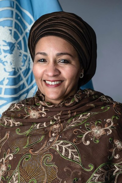 Ms Amina J. Mohammed, Deputy Secretary-General of the United Nations.