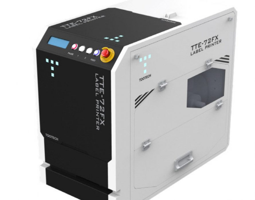TOOTECH launches laser label printer 'TTE-72FX'