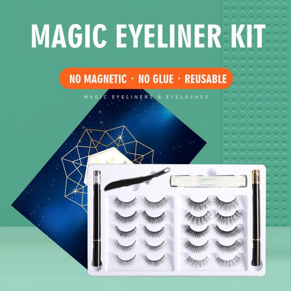 magic eyeliner eyelash kit