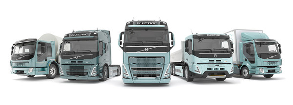 From 2021 onwards Volvo Trucks will sell a complete range of battery-electric trucks in Europe for distribution, refuse, regional transport and urban construction operations.