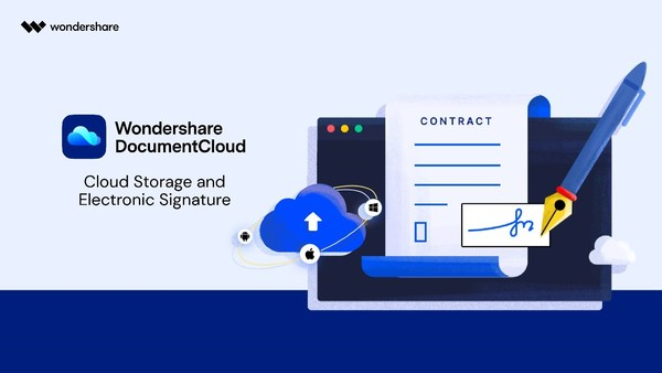 Wondershare Launches Document Cloud for PDF Collaboration and E-Signing