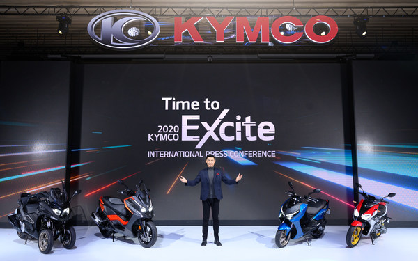 "KYMCO RevoNEX which was introduced in EICMA in Milan last year has been mass produced successfully under KYMCO's continuous effort. KYMCO accomplish the goal to reposition KYMCO as a ""Made in Italy"" brand and manufacture the first KYMCO motorcycle in Italy."