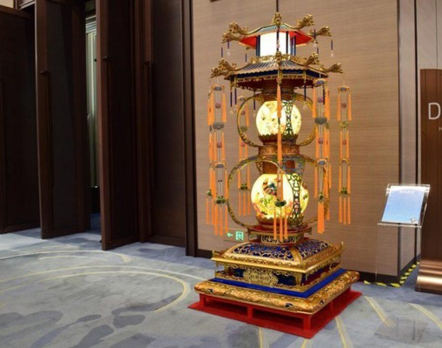 Zigong Lanterns Glittered at China International Import Expo in Shanghai
