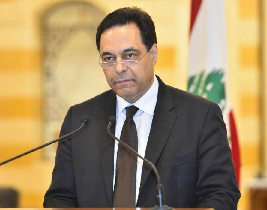 Lebanese premier charged over Beirut port blast