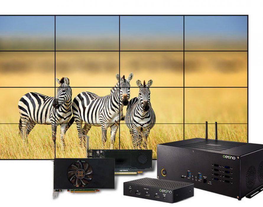 Aetina Announce New Multi-Display Series to Next Vision Era