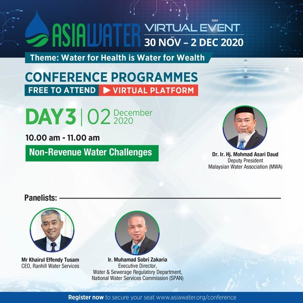 ASIAWATER Virtual 2020 – Day 3 conference highlight