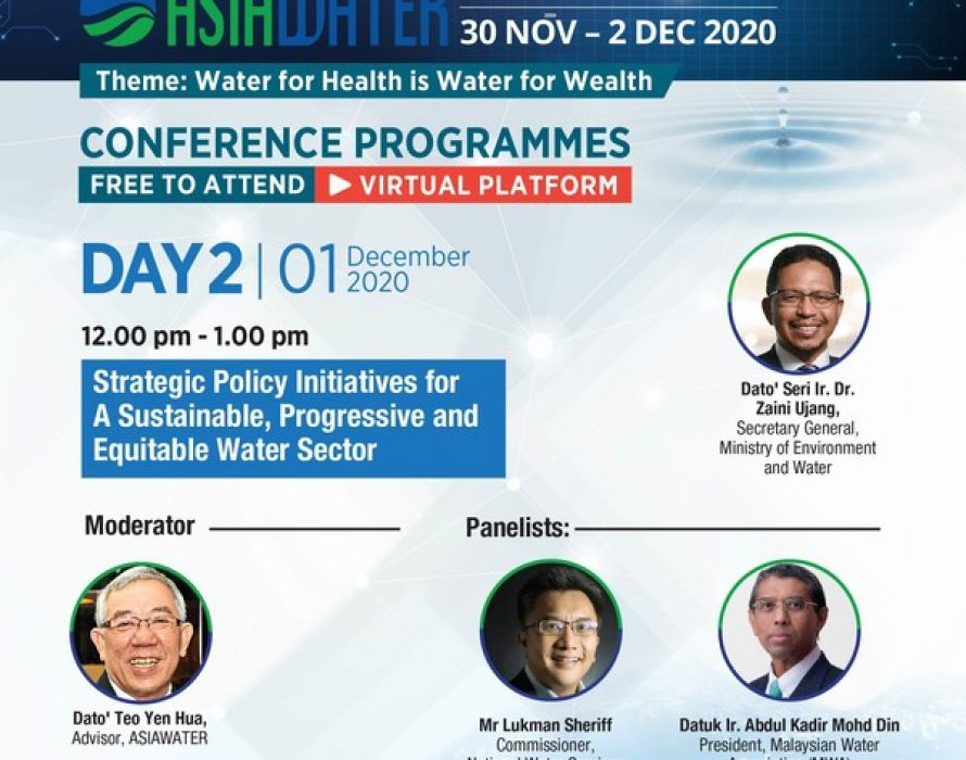ASIAWATER Virtual Event Opens to Welcome Water Professionals
