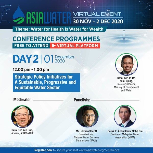 ASIAWATER Virtual 2020 – Day 2 conference highlight
