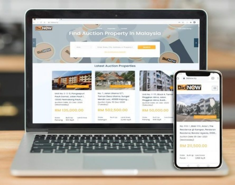 Bidnow.my: Malaysia's Largest and Fastest Growing Property Auction Business Platform