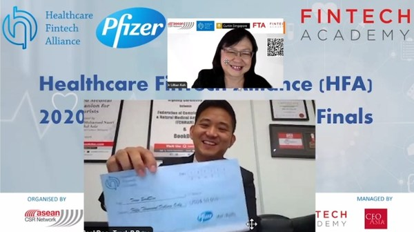 (from top: Dr. Lilian Koh, CEO of Singapores Fintech Academy; Founder and CEO of BookDoc, Dato' Chevy Beh)