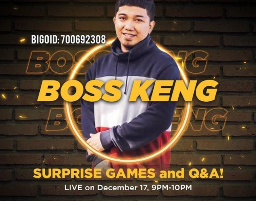 Boss Keng Brings Comedy Skits onto Bigo Live