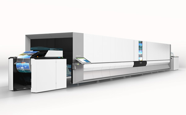 4. Canon ProStream 1000 series color inkjet press employs advanced digital printing technology. Its outstanding output quality and automated workflows can assist businesses to further step towards Industrial 4.0 for optimized operation, accelerated market development and unlimited possibility.